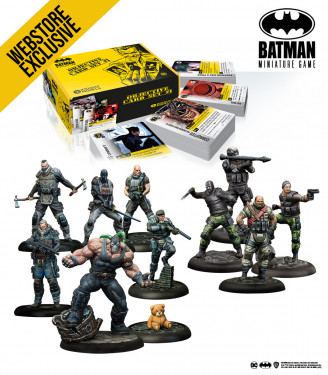 Batman Miniature Game: April 2021 Bane Bundle