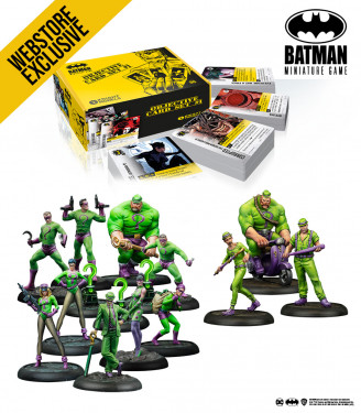 Batman Miniature Game: April 2021 Riddler Bundle