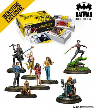 Batman Miniature Game: April 2021 Birds of Prey Bundle