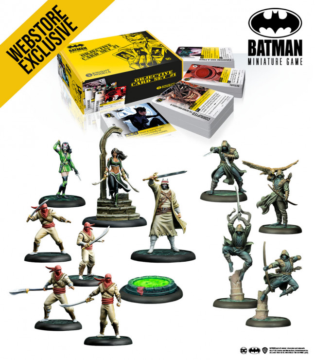 Batman Miniature Game: April 2021 League of Assassins Bundle