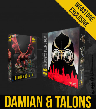 Damian Wayne and Talons Bundle
