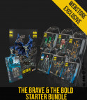 THE BRAVE AND THE BOLD STARTER BUNDLE