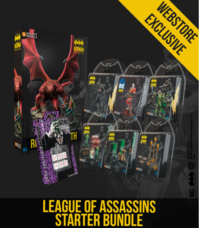 LEAGUE OF ASSASSINS STARTER BUNDLE