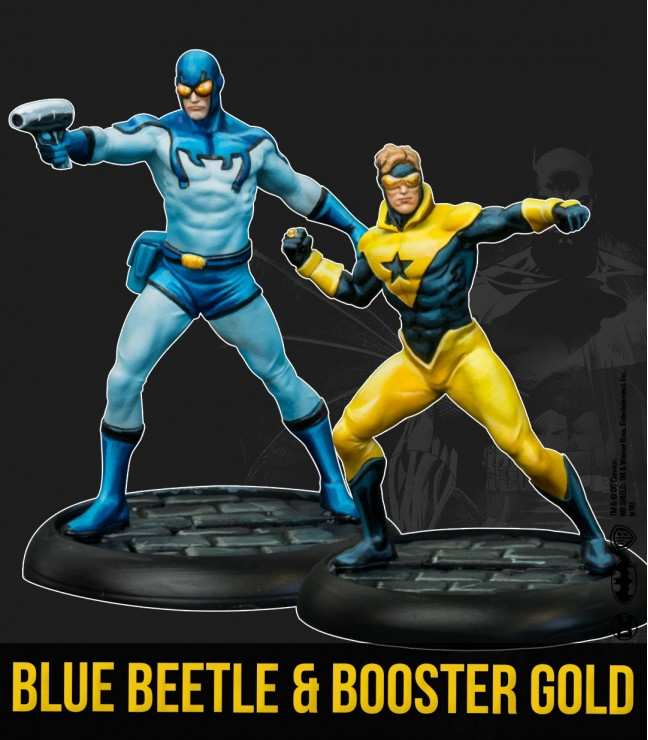 BLUE BEETLE & BOOSTER GOLD (MULTIVERSE)