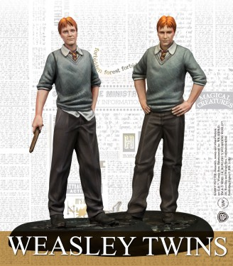 WEASLEY TWINS SPANISH