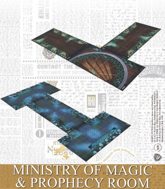 MINISTRY OF MAGIC & PROPHECY ROOM SPANISH