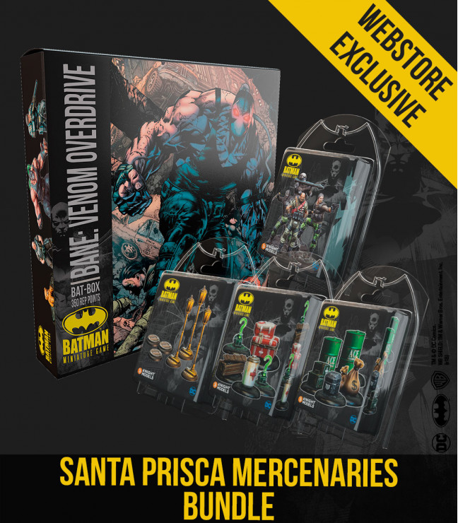 SANTA PRISCA MERCENARIES BUNDLE