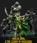 THE DARK KNIGHT RISES + DEMON'S HEIR + RAS AL GHUL & THE LEAGUE ODF ASSASSINS BUNDLE