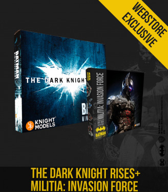 THE DARK KNIGHT RISES + MILITIA BUNDLE