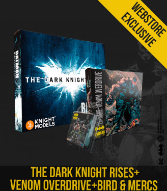 THE DARK KNIGHT RISES + BANE VENOM OVERDRIVE + BIRD & MERCS BUNDLE