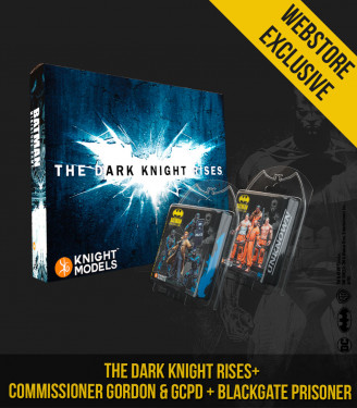 THE DARK KNIGHT RISES + COMMISSIONER GORNDO & GCPD SWAT TEAM + BLACK GATE PRISONERS BUNDLE