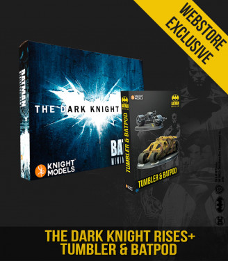 THE DARK KNIGHT RISES + TUMBLER & BATPOD BUNDLE