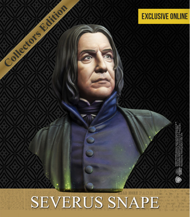 SNAPE'S BUST