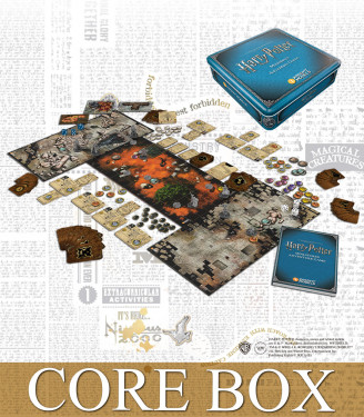 HARRY POTTER MINIATURES ADVENTURE GAMES CORE BOX 2ND EDITION (ENGLISH)