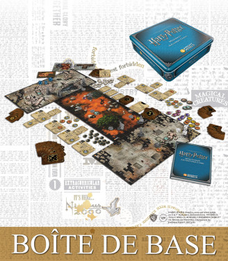 HARRY POTTER MINIATURES ADVENTURE GAMES CORE BOX 2ND EDITION FRENCH